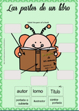 Free Spanish Parts of the Book Activity