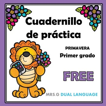 Free Spanish Practice Worksheets for First Grade by Mrs G ...