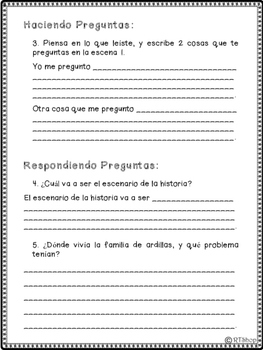 Free Spanish Reader's Theater Script First Scene, Squirrels In Winter, Reading
