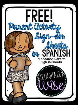 Free Spanish Sign In Sheets