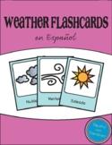 Free Spanish Weather Flashcards