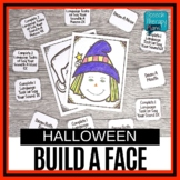 Free Speech & Language Halloween Activity - Build A Face