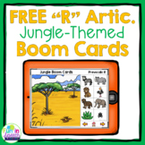 Free Articulation Boom Cards for No Print Speech Therapy