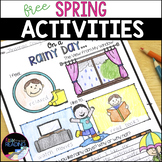 Free Spring Activities - Fun No Prep Spring Worksheets & S