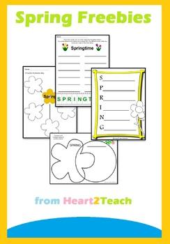 Free Spring Activity Sheets