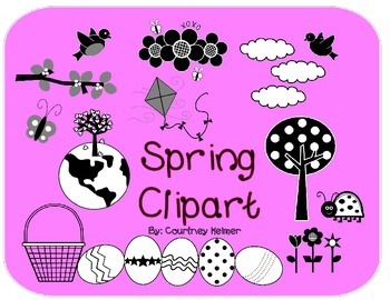 Spring Clipart for Commercial Use