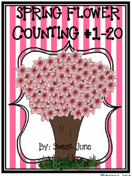 Free Spring Flower Counting Lesson