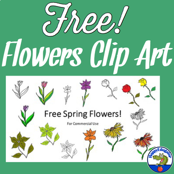 Spring Flowers Clip Art Free