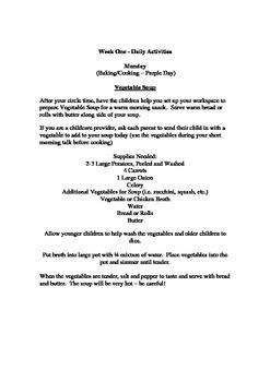 Free Spring Gardening & Growing Theme Week for Preschool or Kindergarten Theme
