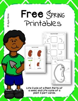 Free Spring Printables