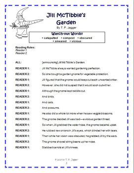 Free Spring Readers' Theater Poem - Free Springtime Poetry - Grades 3-6