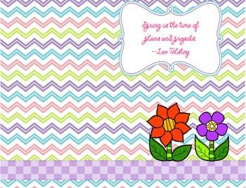 Free Spring Saying Desktop Background