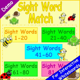 Free Sight Words Match Game