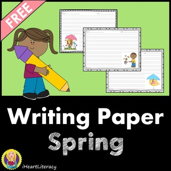 Writing Paper Spring