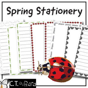 FREE Spring Writing Paper - Stationary