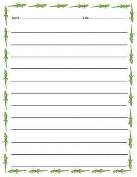 Spring Writing Paper Stationery