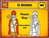 Free St. Nicholas Clip art from Charlotte's Clips: Catholic - Christian Series