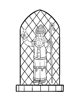 Coloring Book St. Patrick's Day Pages, Cut-out Activity, Word Search