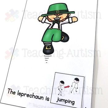 Free St Patrick's Day Adapted Book