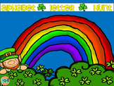 Free-St. Patrick's Day Alphabet Hunt