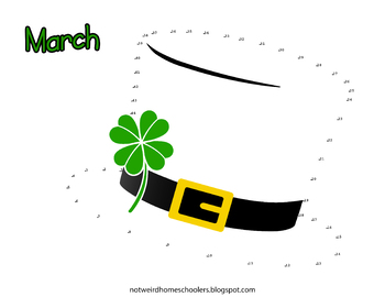 Free! St. Patrick's Day Connect-the-Dots Funsheet