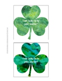 Free St. Patrick's Day Gift Tags