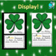 St. Patrick's Day Craft and Writing
