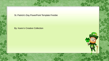 Free St. Patrick's Day PowerPoint Template