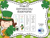 Free St. Patrick's Day Bookmarks