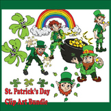 Free St. Patrick's Day Clip Art Bundle - Commercial Use