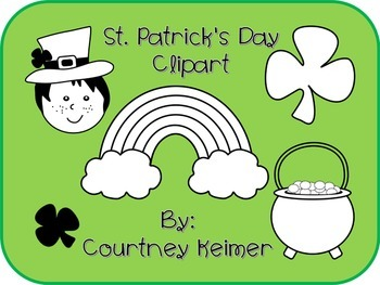 Free St. Patrick's Day Clipart for Commercial Use