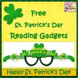 Free St. Patrick's Day Reading Gadgets - Craft Activity