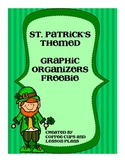 Free St Patrick's Day Reading Graphic Organizers