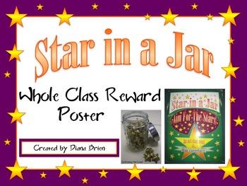 Free - Star in a Jar {Whole Class Reward Poster}