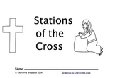 Free Stations of the Cross Booklet for Children by Charlotte's Clips