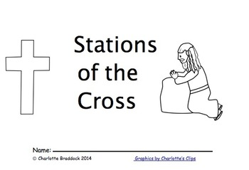 graphic about Stations of the Cross Prayers Printable referred to as Absolutely free Stations of the Cross Booklet for Youngsters through Charlottes Clips