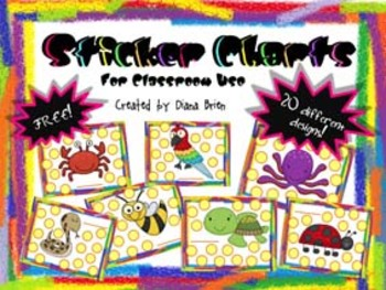Free - Sticker Charts for Classroom Use