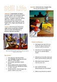 Free Still Life Lesson: Student handout and analysis/response