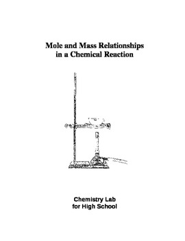 Free Stoichiometry Lab for High School Chemistry:  Moles and Mass
