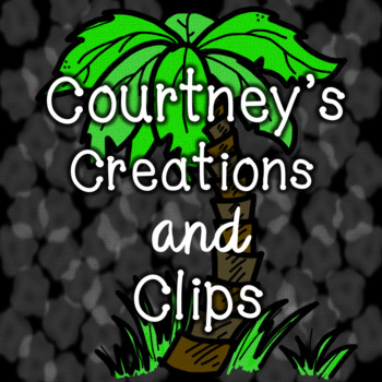 Free Store Button to Courtney's Creations and Clips