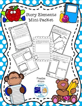 Free Story Element Mini-Packet