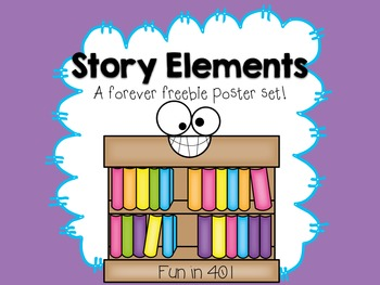 Free Story Elements Posters for Little Learners!