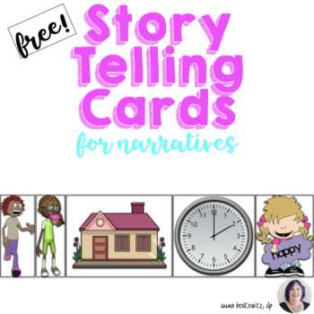 Free Story Telling Narrative Production with Story Element Cards and Frames