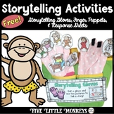 Free Storytelling: Finger Puppets, Storytelling Gloves, 5