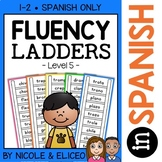 Spanish Reading Fluency Word Ladders 5