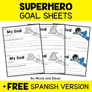 Goal Setting Sheets for Students