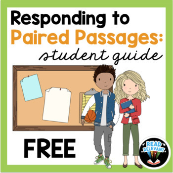 Free Student Guide to Paired Passages Using the RACE Strategy