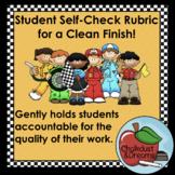 Free! Student Self-Check Chart