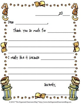 free student thank you note by charity preston tpt