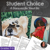 Student Choice framework for High School Visual Art - TAB